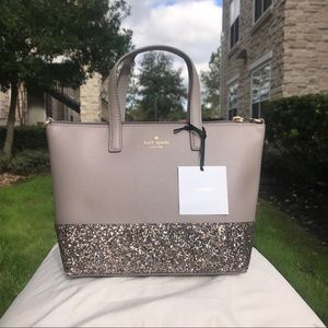 Kate Spade Ina Greta Court Satchel / Crossbody Bag